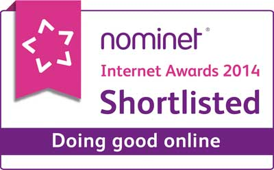 Shortlisted Doing Good logo