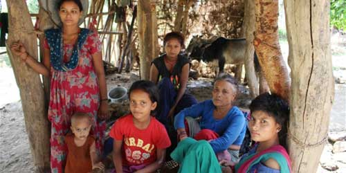 Child marriage is still prevalent in many Nepali Dalit families