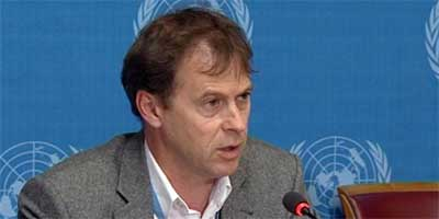 Rupert Colville, spokesperson for the UN High Commissioner for Human Rights (OHCHR)