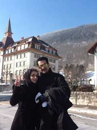 Asma and Hussain in Switzerland