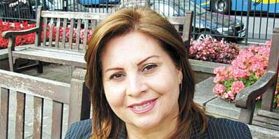 Diana Nammi - Director: Iranian and Kurdish Women's Rights Organisation