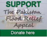 Support the Pakistan Flood Appeal