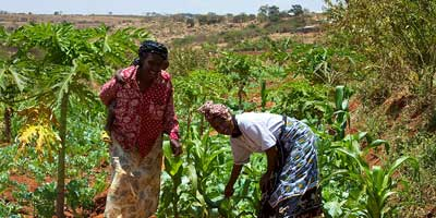 women smallholder farmers