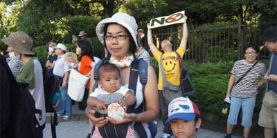 In Japan, anti-nuke protests draw tens of thousands of average citizens. | Photo: Suvendrini Kakuchi/IPS