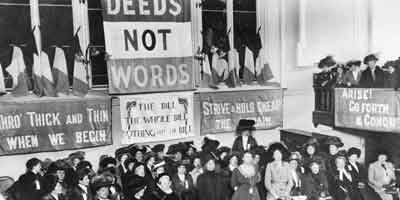Suffragettes-in-Manchester