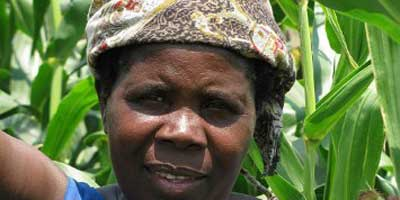 Woman in Malawi
